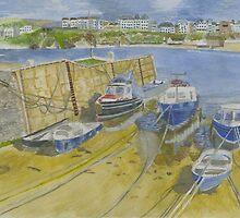 Port Erin Isle of Man by CreativMichelle