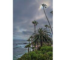 Cliff View Photographic Print