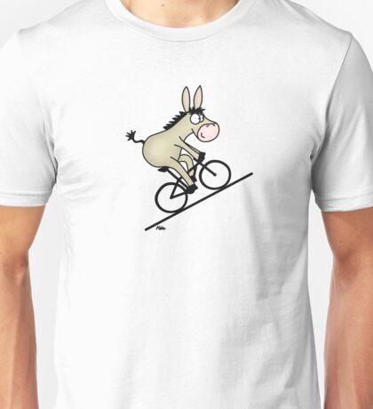 Biking Donkey Unisex T-Shirt
