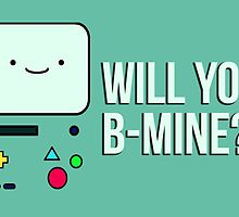 Will you BMO- I mean, Be Mine? by TheCloneClub