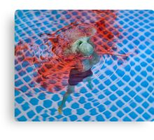 "Bad Bambi Series, #29 ""Sweet Waters""  Canvas Print"