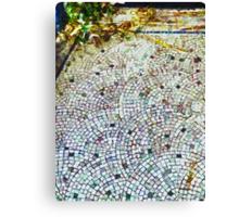 The Mosaic Floor Canvas Print