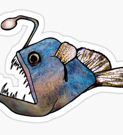The Deep Sea Anglerfish Sticker