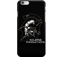 KOJIMA PRODUCTIONS - KNIGHT LOGO INDEPENDENT INDIE NEW iPhone Case/Skin