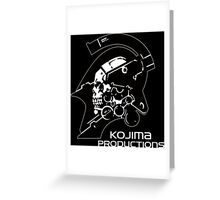 KOJIMA PRODUCTIONS - KNIGHT LOGO INDEPENDENT INDIE NEW Greeting Card