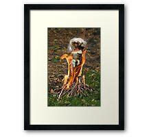 "Bad Bambi Series, #6 ""Anyone Got Any Marshmallows?""  Framed Print"