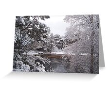 Aviemore in the Snow Greeting Card