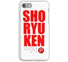 SHORYUKEN iPhone Case/Skin
