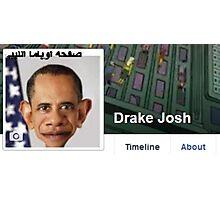 Drake Josh Photographic Print