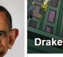 Drake Josh Sticker