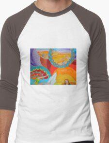 Surf Desert Off road T-shirt Men's Baseball ¾ T-Shirt