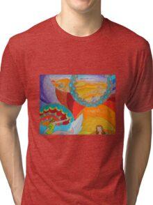 Surf Desert Off road T-shirt Tri-blend T-Shirt