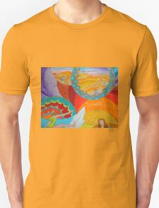 Surf Desert Off road T-shirt Unisex T-Shirt