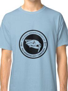 The Society of Palaeontology Fanciers (Black on Light) Classic T-Shirt