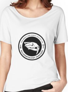 The Society of Palaeontology Fanciers (Black on Light) Women's Relaxed Fit T-Shirt