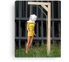 "Bad Bambi Series, #2 ""Just Hanging Around""  Canvas Print"
