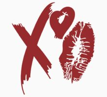 XO Lipstick - Red by tumblingtshirts