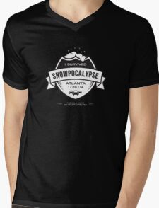 Snowpocalypse Atlanta 2014 T Shirt Mens V-Neck T-Shirt