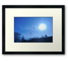 The Sun, Earth, Moon and Stars...  Framed Print
