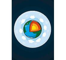 Earth Cake Photographic Print