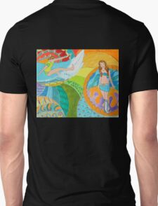 Surf Desert Off road Long sleeve Shirt design woodie T-Shirt