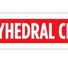 Polyhedral Crew Sticker