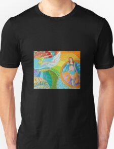 Surf Desert Off road Baseball Long sleeve Shirt design woodie T-Shirt