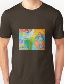 Surf Desert Off road Baseball Long sleeve Shirt design woodie T-Shirt