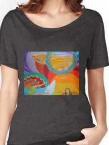 Surf Desert Off road Long sleeve Shirt design hoodie Women's Relaxed Fit T-Shirt