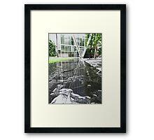 Broadgate Plaza Reflected Framed Print