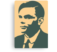 Che Turing Canvas Print