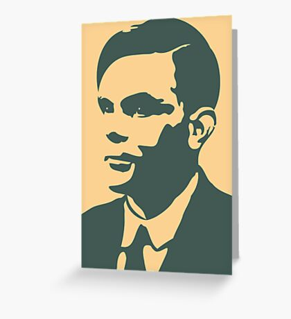 Che Turing Greeting Card