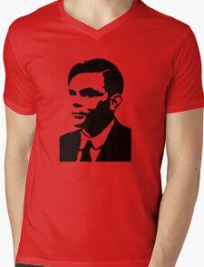 Che Turing Mens V-Neck T-Shirt