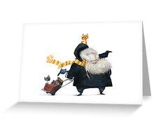 Big happy family Greeting Card