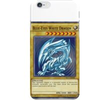 Blue Eyes White Dragon iPhone Case/Skin