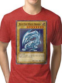 Blue Eyes White Dragon Tri-blend T-Shirt