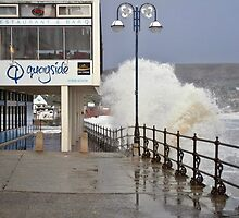 February storm at Swanage 2 by Mike Streeter