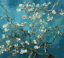 Blossoming Almond Tree, Vincent van Gogh.  by naturematters