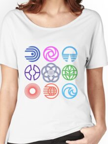 EPCOT Pavilions Women's Relaxed Fit T-Shirt