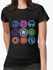 EPCOT Pavilions Womens Fitted T-Shirt