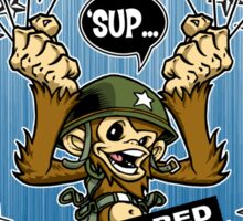 Go Commando! Sticker