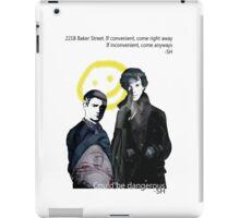 BBC Sherlock iPad Case/Skin