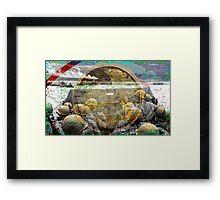MENATWAR Framed Print