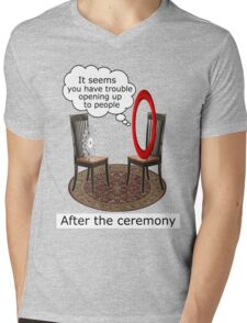 The Fifth Ring Mens V-Neck T-Shirt