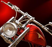 Red Chopper Detail II by DaveKoontz