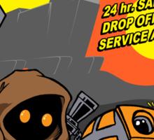Droid repairs! Sticker