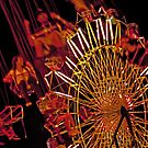 Spinning Ride at the Fair by Buckwhite