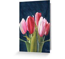 Six Tulips Greeting Card
