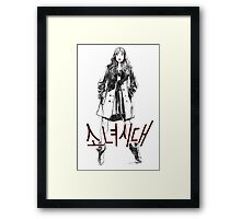 Sooyoung SNSD Framed Print