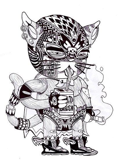 El Gato Bandito by marc mercado